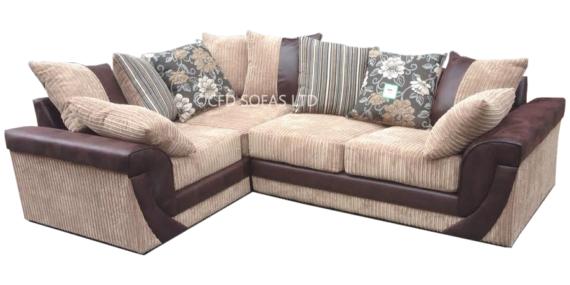Alysia Corner Sofa