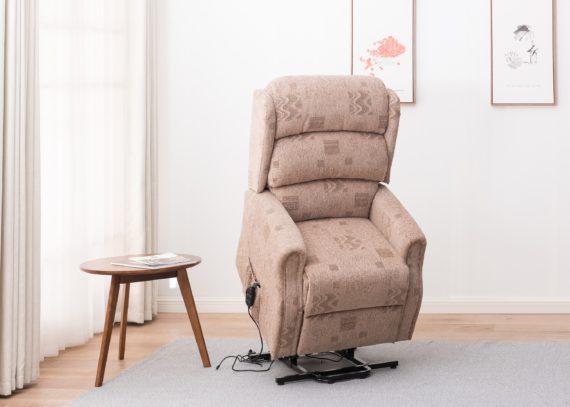 Wilmslow Tilt, Lift and Recline Chair - Biscuit