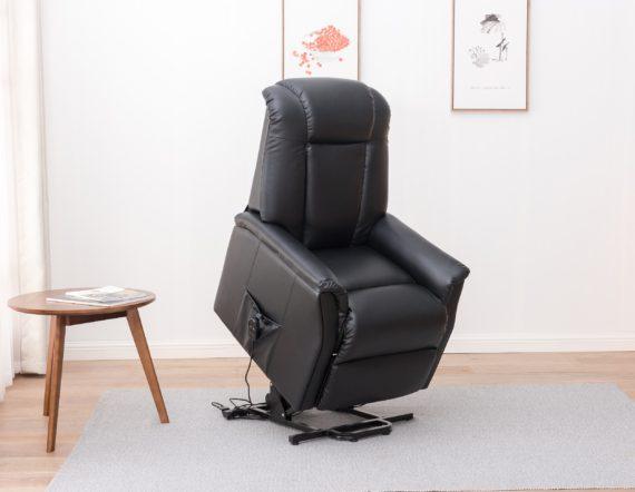 Westminster Tilt, Lift and Recline chair - Black